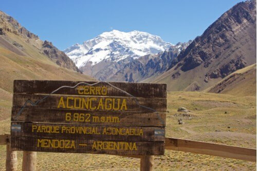 Aconcagua National Park, Andes Mountains