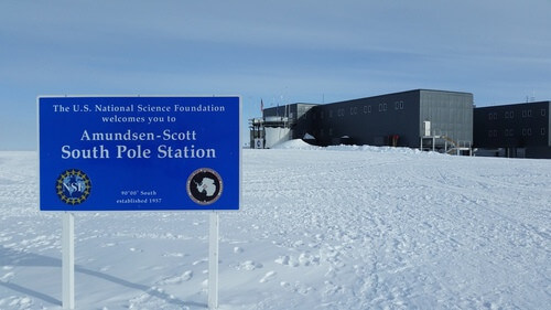 The NSF Station in Antarctica