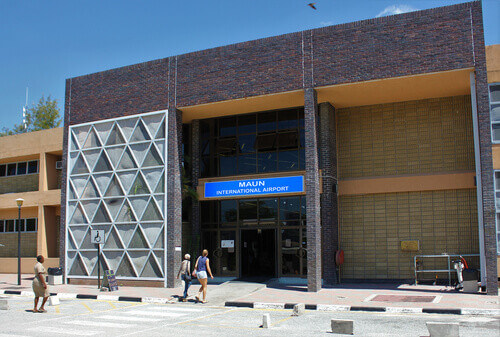 Maun Airport is an international airport serving the town of Maun in the North-West District of Botswana