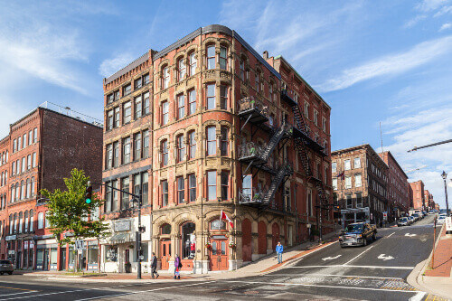 Heritage Buildings in Saint John, new Brunswick, Canada, the port city of the Bay of Fundy was established in 1604