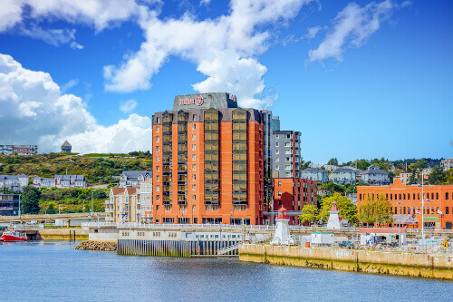 Saint John, NB in Canada is now depending on tourism, having over 1.5 million visitors and 200,000 cruise ship visitors a year