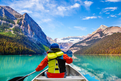 Lake Louise Kayak