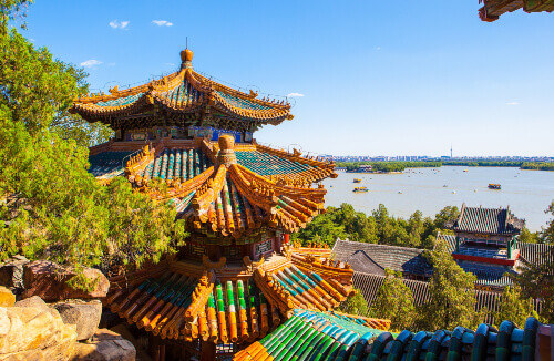 Summer Palace is considered as the most beautiful royal park in China. The Summer Palace is located in Beijing, China