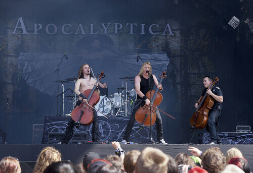 Metallic opera band Apocalyptica