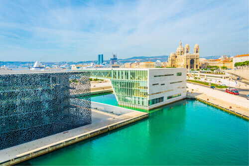 Mucem Museum of European and Mediterranean Civilisations in Marseille France