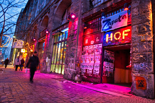 The Kunsthaus Tacheles an artists house in Berlin Germany