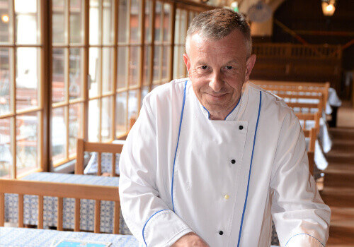 Wolfgang Reithmeier is the head chef of Hofbräuhaus in Munich.