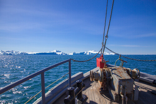 Cruising on the Disco Bay out of Ilulissat, Greenland