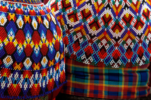 Anorak in Timmiaq part of Greenlands national dress for Woman