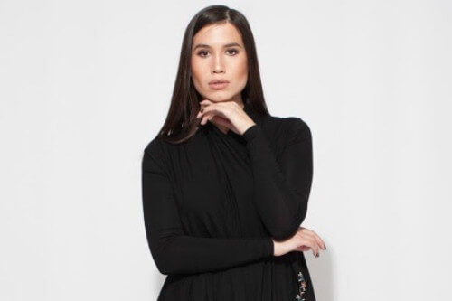 Nuuk Couture Cardigan Dress in Greenland