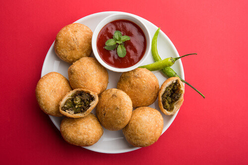 Kachori a holi festival food in India