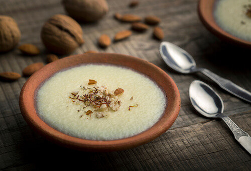 Phirni or sweet rice pudding is a traditional punjabi sweet dish in India