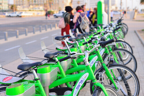 Tel-O-Fun is a bicycle sharing service which provided by the city including 125 active stations in Tel Aviv Israel