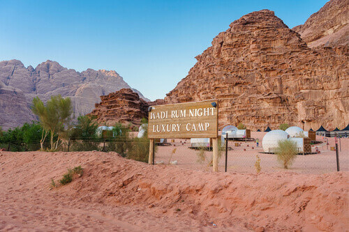 Wadi Rum Luxury Camp in Wadi Rum Jordan