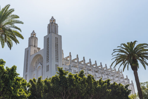 The Sacre Coeur Cathedral Casablanca Morocco