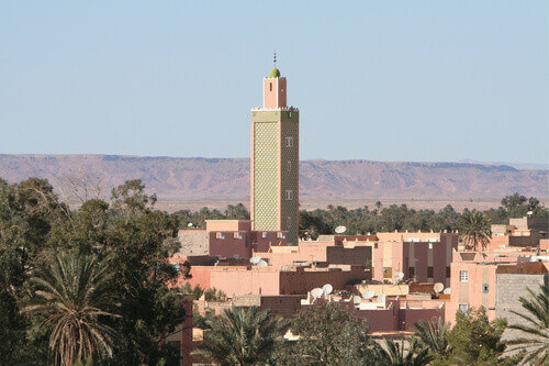 Erfoud a town in Morocco