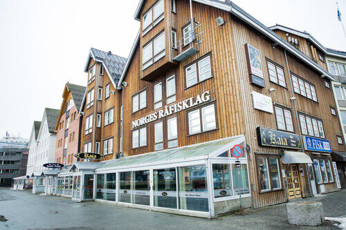 Kaia Bar and Bistro in Tromso Norway