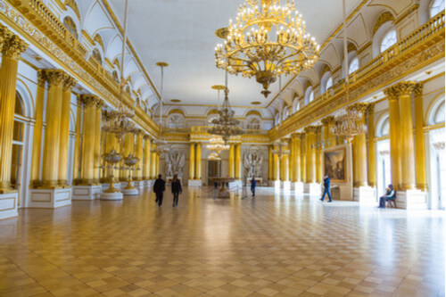 Winter Palace Armorial Hall Interior
