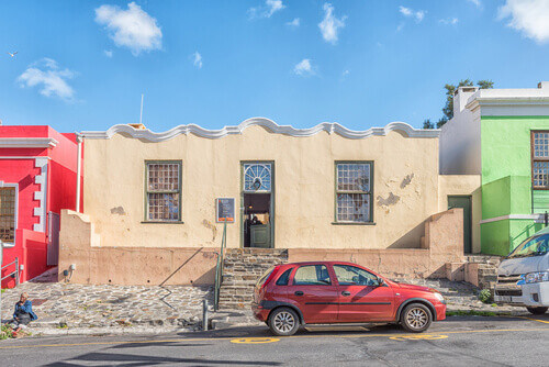 The Bo-Kaap Museum in Cape Town in the Western Cape Province in Cape Town South Africa