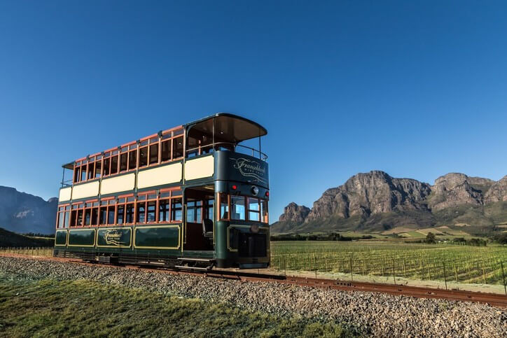 Franschhoek Wine Tram in South Africa