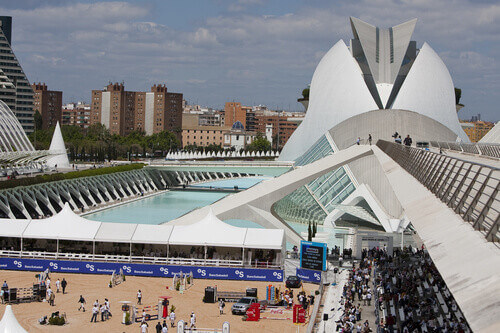 the City of Arts and Sciences in Valencia Spain