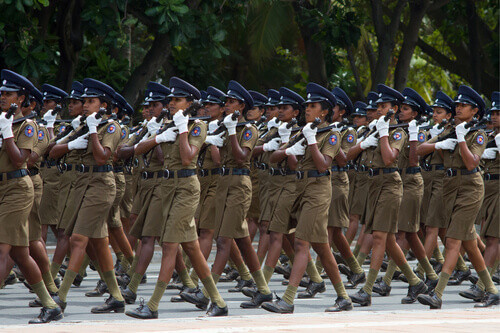 Independence Day parade in Colombo Sri Lanka