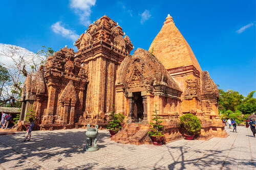 Ponagar Temple is a Cham temple tower near Nha Trang city in Vietnam