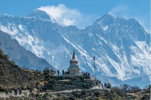 Nepal, Everest in sight