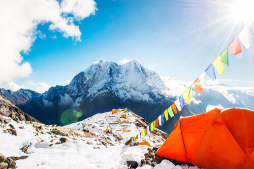 Tents at Everest Base Camp