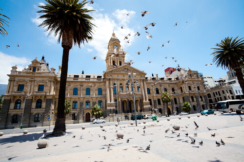 City Hall, Cape Town South Africa