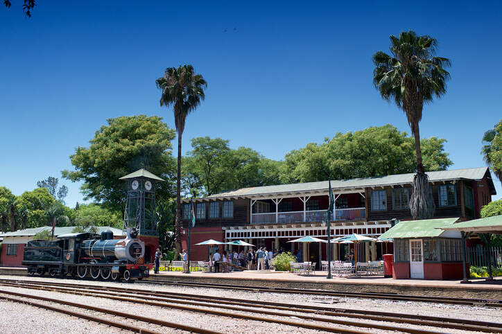 Rovos Rail Train Station, South Africa
