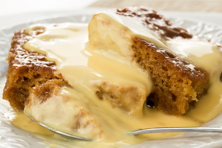 Malva pudding, a South African pudding