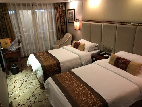 Image of room on gold 6 ship, yangtze river china