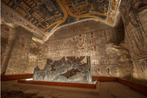 tomb valley of the kings egypt