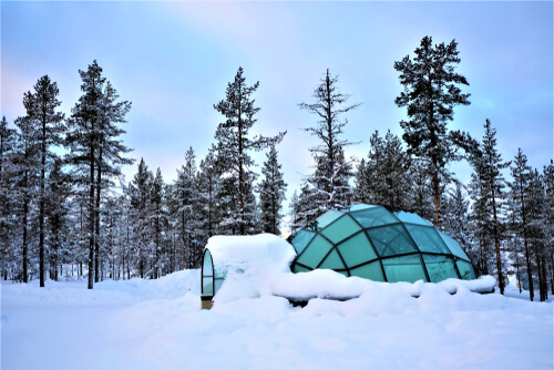 Glass Igloo, Lapland