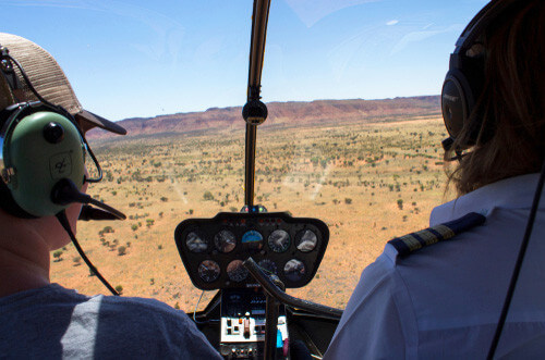 helicopter ride kings canyon northern territory au