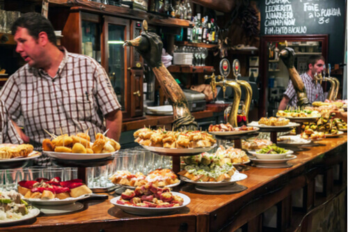 Tapas Bar in Spain