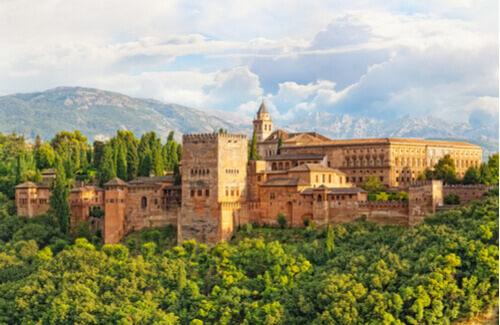 Alhambra Andalusia Spain