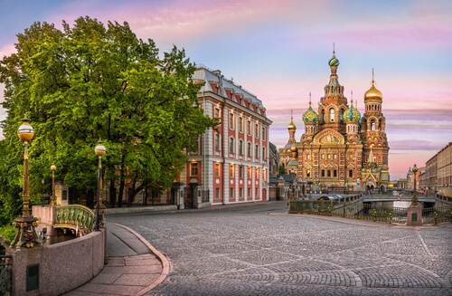 Church of the Saviour on spilled blood Russia