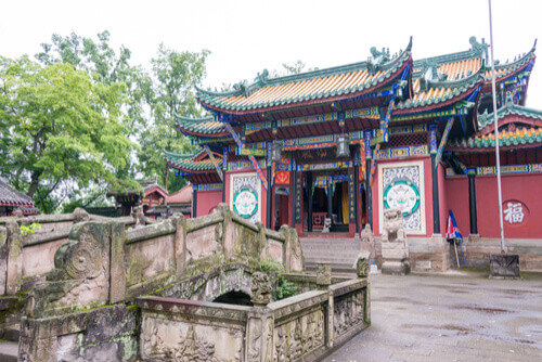 Fengdu ghost city temple china