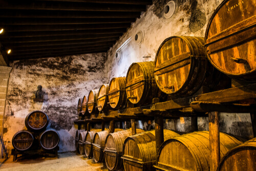 Barrells of Sherry Spain