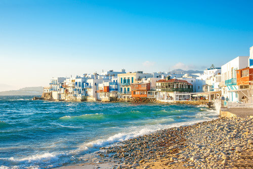 little venice mykonos greece