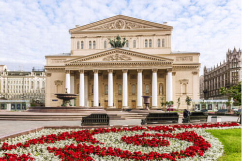 Bolshoi Theatre Moscow Russia