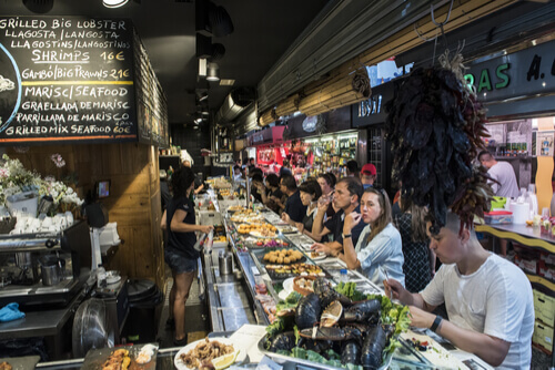 Tapas bar Spain Market