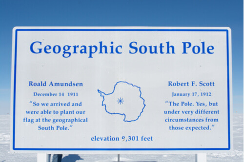 Geographic north pole antarctica